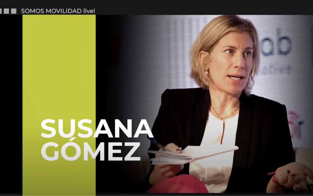 ¿Qué visión de la movilidad urbana sostenible y segura tiene la Dirección General de Tráfico? Susana Gómez, subdirectora general